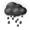 黑色暴雨警告信號