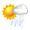 間有陽光幾陣驟雨