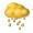 黃色暴雨警告信號